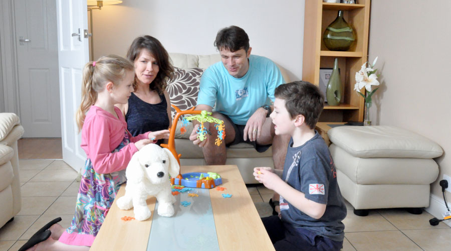 Family Fun at Linstone Chine holiday accomodation